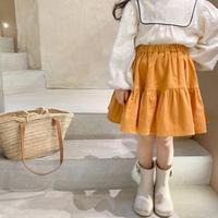 【80-150cm】SKIRT コーデュロイ ティアード スカート