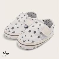 お急ぎ便対応 受注発注🇺🇸【10.5〜12.5cm】Baby star print sneakers