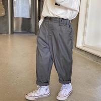 【80-140cm】PANTS TRツイル タックパンツ