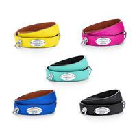日本未入荷【Return to Tiffany®︎】Narrow Leather Wrap Bracelet