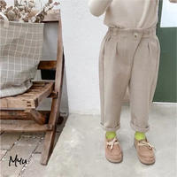 受注発注🇰🇷【90-140cm】Slacks pants
