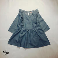 SALE 【100cm/120cm】Frill Dress フリルドレス