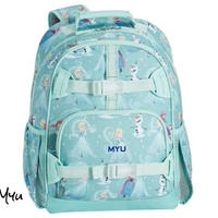 お急ぎ便対応 受注発注🇺🇸【Large】Pottery Barn Mackenzie Aqua Disney Frozen Backpack