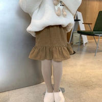 【80-150cm】SKIRT コーデュロイ フリルスカート