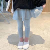 【80-150cm】LEGGINGS スカート付きレギンス