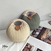【LADIES】Shell Basket bag シェル型カゴバッグ