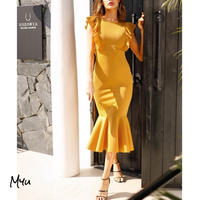 受注発注【Ladies】High waist mermaid dress