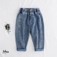 受注発注🇰🇷【90-150cm】Simple Jeans シンプルジーンズ