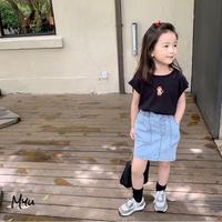 【80-150cm】Denim Skirt デニムスカート
