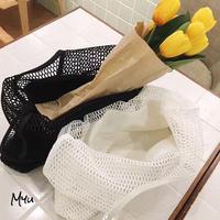 【LADIES】Simple Mesh Bag A4 シンプル メッシュ バッグ