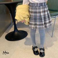 【80-150cm】SKIRT タータンチェック プリーツ  スカート
