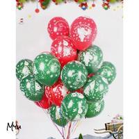受注発注🇺🇸Christmas Print Balloon Set クリスマス プリント 風船 20個セット