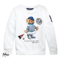 受注発注【95〜120cm】Polo Ralph Lauren French terry bear pullover