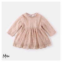 受注発注【80〜110】All lace dress