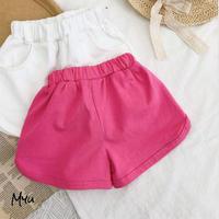 【80-120】Solid Sporty Short Pants スポーティーショートパンツ