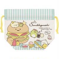 すみっコぐらし ランチ巾着 ☆お弁当袋 きんちゃくバッグ / ランチマーケット B