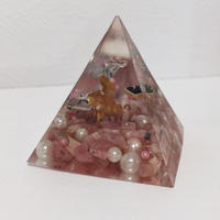 ピラミッド型オルゴナイト(インカローズ)