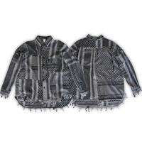 Remake shemagh-scarf shirt