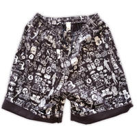 【SALE】Original silk print easy shorts