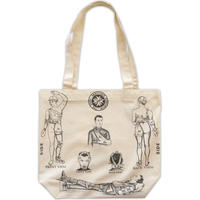 Fist aid tote bag / Ecru