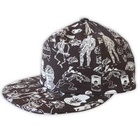 【SALE】Original silk print cap / Chco