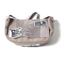 Pulsar embroidery Messenger bag / Gray