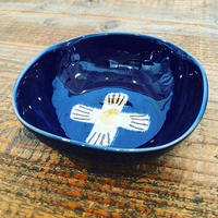 瑠璃釉小鉢