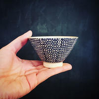 小さな飯碗  呉須