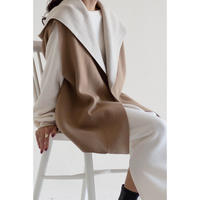 Wool Knit Vest_beige