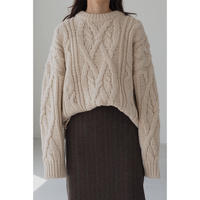 Cable Warm Knit