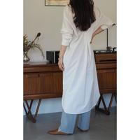 Back tack  dress_Ivory