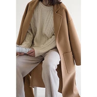 Standard Wool Coat_camel