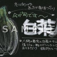 白菜(冬,和え物)