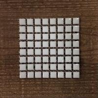 【タイル】マイクロサラ 01 白