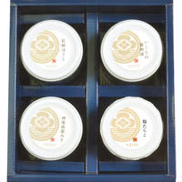 味の詰合せ② 【3004】(紅鮭ほぐし いくら醬油漬 神楽南蛮みそ 塩たらこ)