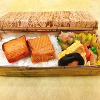 鮭の焼漬弁当