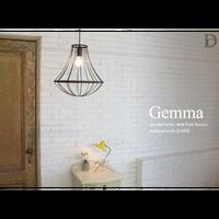 ディクラッセ ジェンマ ペンダントランプ ゴールド/ブラウン(LED電球付属)