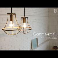 ディクラッセ ジェンマ スモール ペンダントランプ ゴールド/ブラウン(LED電球付属)