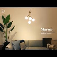 ディクラッセ LED マレーノ シーリングライプ ブラック/ゴールド