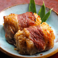 【冷凍】玄米ご飯の肉巻きおにぎり