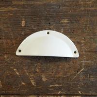 ハンドル 取っ手 ラウンド型 ホワイト (620365)
