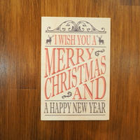 WOODクリスマスカード(Merry Christmas)