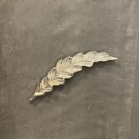 アルミプランツ 箸置き ルッコラ シルバー