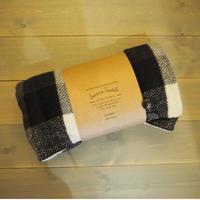Suave Textile ブランケット チェックブラック