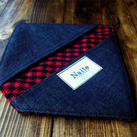 Wool check oven glove / オーブングローブ Made in JAPAN 送料無料