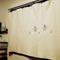 Sheeting curtain short / メンズ・カーテン ※受注生産商品 Made in JAPAN 送料無料