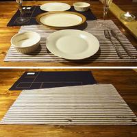 Pair place mat / ペア プレースマット Made in JAPAN 送料無料