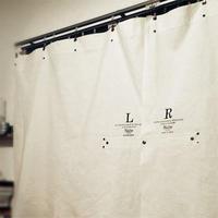 Sheeting curtain long / メンズ・カーテン ※受注生産商品 Made in JAPAN 送料無料