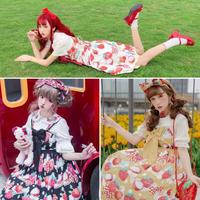 【ご予約8-9月発売】少女浪漫苺JSK