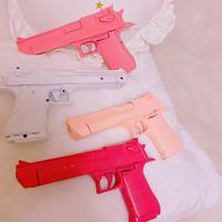 【6色】パステルカラー拳銃